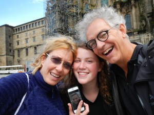 Our Camino Family in Santiago